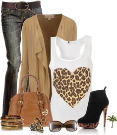 """Animal Print Love"" by cindycook10 on Polyvore"