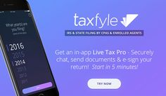 #taxfyletaxfiling #besttaxapp #taxreturnapp #US Tax App, Enrolled Agent, Free Mobile Apps