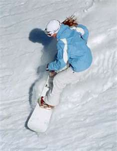 Snow board and not get a million bruises!... It will happen.