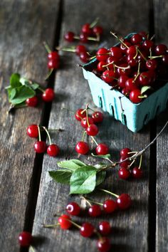 Summer's on it's way... with cherries in tow.
