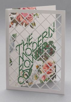 The Modern Flower Compnay identity by Multstorey