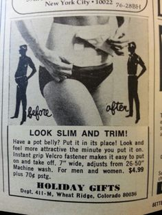 Oh, no thank you. Slimpressions is not your grandmother's girdle! It's 21st Century shape wear that's designed to be worn every day by women who want to look better in their clothes.