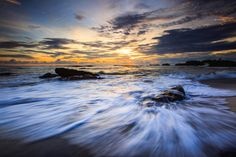 Sunset Wet by Bertoni Siswanto on 500px