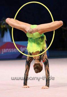 #rhythmic #gymnastics #hoop