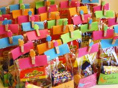 Angolino di Liana: Sacchetti colorati per caramelle