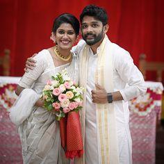 Christian Bridal Saree, Bridesmaid Dresses, Wedding Dresses, Kerala, Big Day, Photos, Outfits, Fashion, Bridesmade Dresses