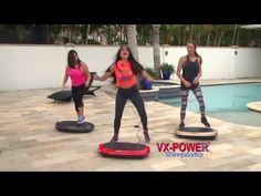 VX-POWER VIBRATION PLATE DANCE on the SLIMPLATE GALAXY! PART 1 - YouTube