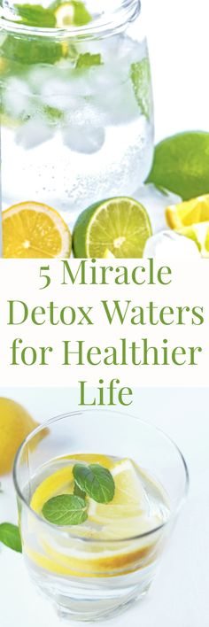 5 miracle detox water