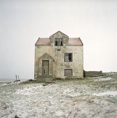 . abandoned beach home