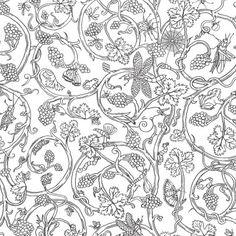 Papier peint animaux blanc Insects - Cole and Son - Au fil des Couleurs