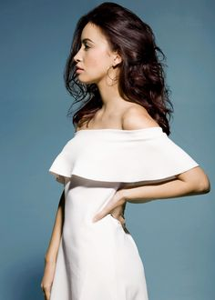 Christian Serratos photographed by Alex Martinez