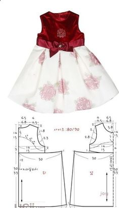 Baby Girl Dress Patterns Baby Clothes Patterns Love Sewing Baby Sewing Sewing For Kids Little Girl Outfits Kids Outfits Frock Design Sewing Clothes Little girls dresses - Pattern with measurements in cm A selection of children& models . Baby Girl Dress Patterns, Baby Clothes Patterns, Dress Sewing Patterns, Little Girl Dresses, Clothing Patterns, Girls Dresses, Pattern Sewing, Kids Outfits, Baby Girls