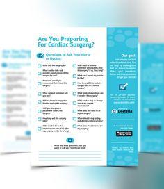 Design Patient-Centered Leaflet Template for Start-up by Damaris Guerra