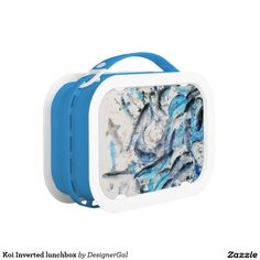 Shop Koi Inverted Lunch Box created by DesignerGal.