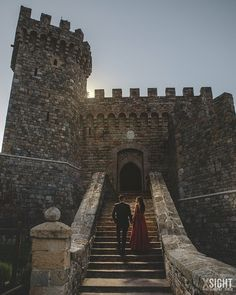 Engagement Session at Castello di Amorosa | XSiGHT Photography | Napa | Calistoga | Sonoma | Sacramento | San Francisco | Winery | Vineyard | Photo Shoot | Castle | Vintage | Romantic | Formal | Dramatic | Ideas | Inspiration