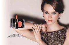 Maquillaje Chanel otoño 2013: ¡Superstition atrae la buena suerte! #Chanel #maquillaje #makeup
