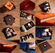 Stylish wedding albums