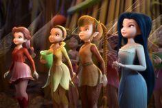 The lost treasure fairies. Love Silvermist.