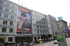 Macy's Union Square welcomes IZOD.