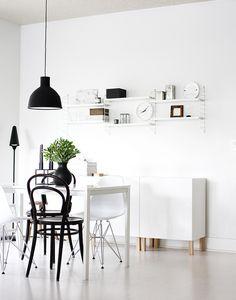 Dining Room Inspiration: 10 Scandinavian Dining Room Ideas You'll Love Deco Design, Küchen Design, House Design, Ikea Design, Design Hotel, Modern Design, Design Ideas, Dining Room Inspiration, Interior Inspiration
