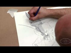 Lesson of the Week - Monster Drawing Techniques - Stan Winston Creatures with Timothy Martin #art #drawing #howto