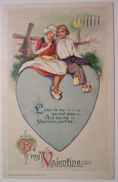 https://flic.kr/p/4jNGss | Vintage Valentine's Day Postcard | winsch