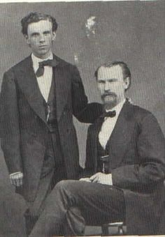 Lawrence Gustav Murphy (right) & James Joseph Dolan (Left) two of the three leaders of the Murphy, Dolan, & Riley Faction and members of the Santa Fe Ring