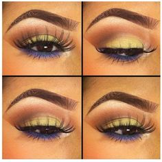 Love the Colors and Lashes!