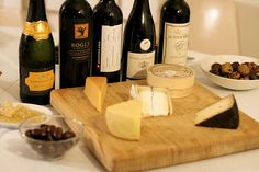 Throw a wine-and-cheese tasting that's casual, fun, and fuss-free. Invite a group of friends over and host with ease. Here's how to do it.