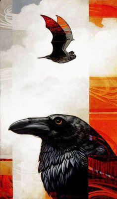 Raven & Bat - Craig Kosak