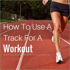 We created a sweaty track workout that will burn major calories!  Head to a school's track to do this calorie-burning cardio workout!