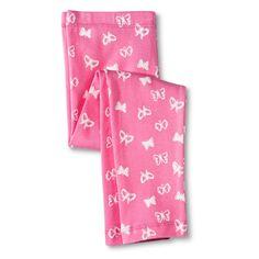 Toddler Girls' Butterfly Leggings - Pink