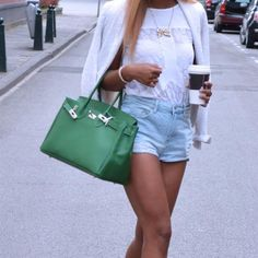 My green Birkin Bag <3 by Taria-ann