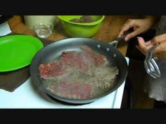 How to make Puertorican Bistec Encebollado(Steak and Onions)