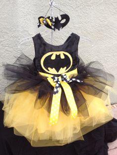 Batman flower girl! By SimplySunni