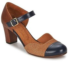 Chie Mihara VOLF Brown / MARINE on shopstyle.co.uk