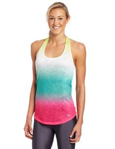 Asics Women's PR Slub T-Back Top, X-Large, Ombre, Our ASICS Slub T-Back top is, in a word: irresistible. It's a perfect example of our ability to combine form and function in a way that will actually get you excited to show it off on your runs., #Sporting Goods, #Active Shirts  Tees