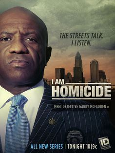 The Streets Talk. I Listen. Meet Detective Garry McFadden from Investigation Discovery's I Am Homicide. All New Series Tonight at on Investigation Discovery. Investigation Discovery, True Crime Books, Homicide Detective, Discovery Channel, Great Tv Shows, New Series, Investigations, Favorite Tv Shows, Movie Tv
