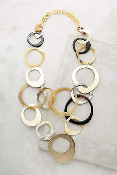 Horn Swirl Necklace - anthropologie.com #anthroregistry
