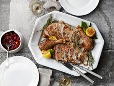 The Perfect Roast Turkey with Herbes-de-Provence Rub |  Country Living