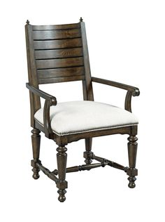 Dining room arm chair from the Berwick Court collection by Kincaid. New for #hpmkt Spring 2015.