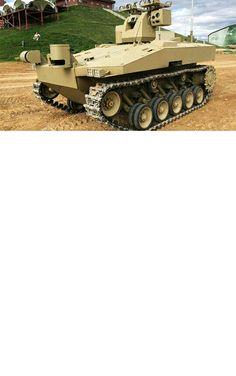 Soratnik Tank Robot