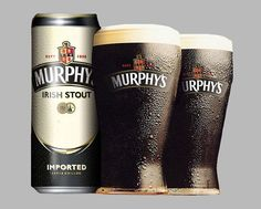 Murphy's Irish Stout Murphy's is an internationally recognized Irish stout, brewed since 1856 in the iconic Lady's Well Brewery, Cork, Ireland. Classified as an Irish Dry Stout, Murphy's is dark in color and medium-bodied. Cork Ireland, Dublin Ireland, Social Media Search Engine, Coffee Aroma, Porterhouse, Creative Company, Emerald Isle, Blended Coffee, Brewing Company