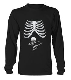 Baby Skeleton Halloween for Pregnant Wome T Shirt