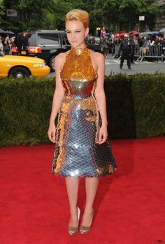 Pin for Later: The Red Carpet Stakes Have Been Raised For Lupita Nyong'o Carey Mulligan in Prada at the 2012 Met Gala