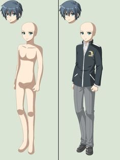 Corpse Party Dead Patient-male Base by TFAfangirl14