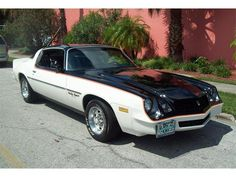 1979 Camaro Rally Sport...my first car was a 78 Camaro RS; it was bronze w/black ext. w/camel tan/black vinyl int. and super-fun to drive. Wish I had that car back!