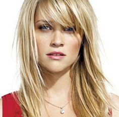 Best Medium hairstyles with bangs 2013 wallpaper