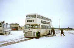 Blackpool England, Bus Coach, Coaches, Buses, Transportation, Truck, Public, Snow, City