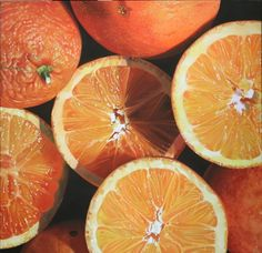 orange, fruit, and food image Hyper Realistic Paintings, Realistic Drawings, Puffins Bird, Orange Aesthetic, Photocollage, Disney Instagram, Landscape Illustration, Colors, Yellow